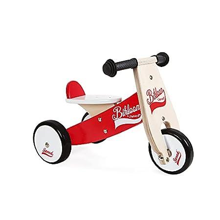 Janod Holz-Laufrad Little Bikloon mit 3 Räder