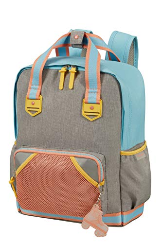 Samsonite Sam School Spirit - Mochila Infantil M, 36 cm, 15.5 L, Multicolor (Peach Sunset)