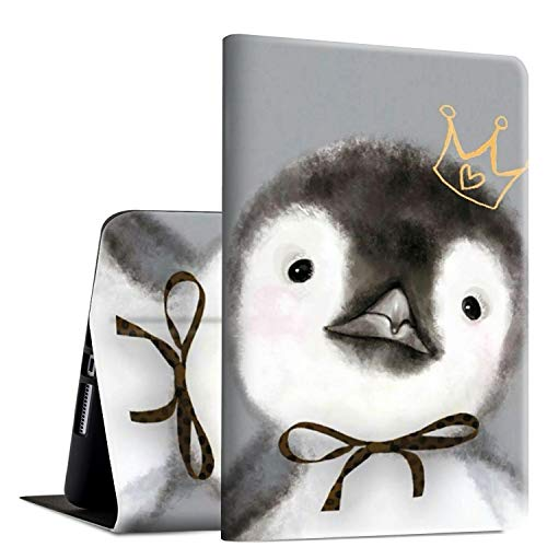 Funda para Galaxy Tab A 10.1 2019, SM-T515/T510, Rossy Shock Protection Tablet Case con soporte ajustable para Samsung Galaxy Tab A 10.1 pulgadas 2019 liberación – Cute Animal Penguin