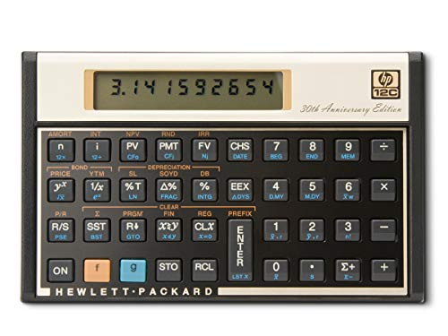 : HP 12c Financial Calculator (Limited Edition)