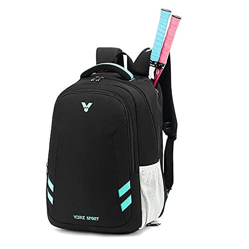 Bolsa De Tenis Para Mujer Tiene 2 Raquetas Acolchadas Para Proteger Las Raquetas Y El Peso Ligero Para Jugadores Profesionales Y Principiantes De Diseño Unisex Para Hombres Mujeres D-18.8in