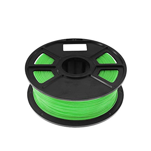 Gesh Green 1Kg-Pla Filament 1.75Mm Plastic Rubber Consumables Material 3D Carbon Fiber 3D Filament 1.75 Impressora 3D Filament for Print