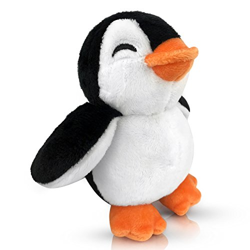 """Stuffed Penguin - Plush Stuffed Penguin Toy - Meet Mr. Chill, The Baby Penguin Stuffed Animal - A Huggable, Soft, Adorable 5"""" Baby Penguin - Great Gift for Penguin Lovers of All Ages, Girls and Boys"""