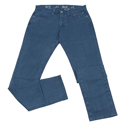 Carlo Chionna 0534K Pantalone Uomo 9.2 Light Blue Cotton Trouser Man [31]