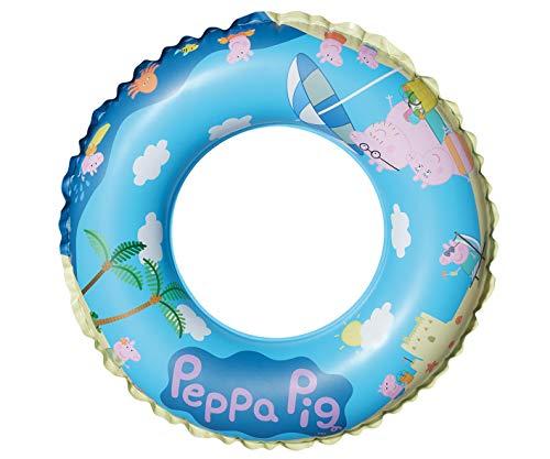 Smart Planet Flotador Peppa Pig – Peppa Pig – Flotador inflable – Anillo de piscina – Colchón de aire – Piscina piscina piscina Hallenbad – Diámetro 45 cm