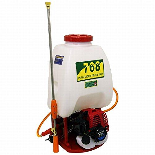 WEIMALL エンジン式 噴霧器 26cc 背負い式 25Lタンク 殺虫剤 除草剤の散布 畑 庭木の散水