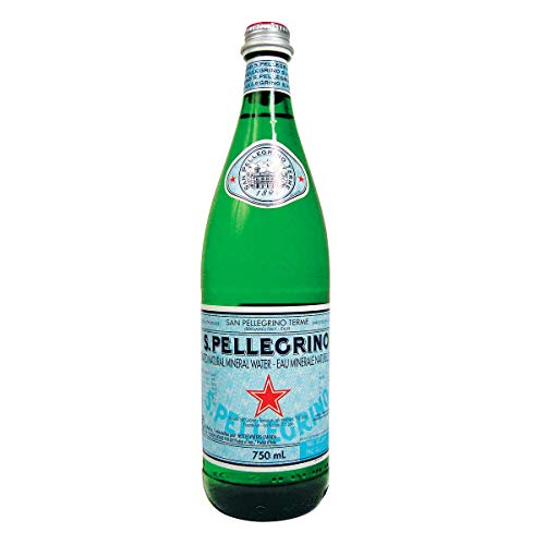 San Pellegrino Sparkling Natural Mineral Water (750 ml) - Packung mit 6
