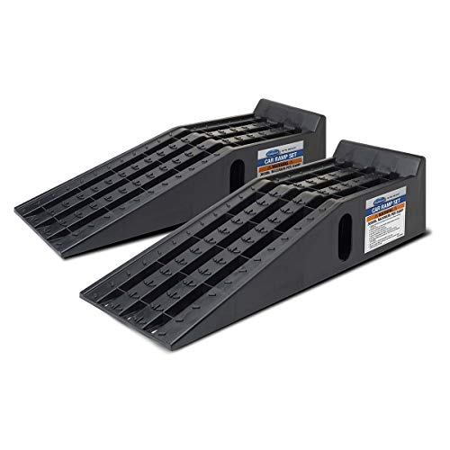 Eastwood Vehicle Car Ramp Set 3 Tons Total Capacity 1.5 tons Each Rubber Feet