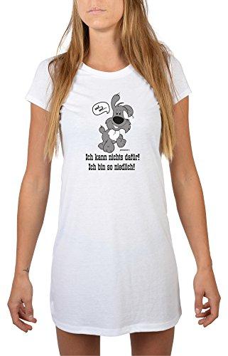 Goodman Design ® Schlafshirt/Nachthemd mit Hunde-Motiv: Ich kann Nichts dafür! Ich Bin so niedlich! tolles Geschenk