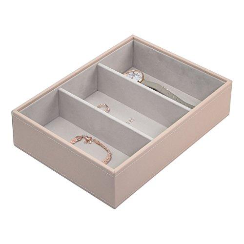 Stackers Blush Klassisch Schmuckschatulle Schmuckfach für Uhren/Accessoires