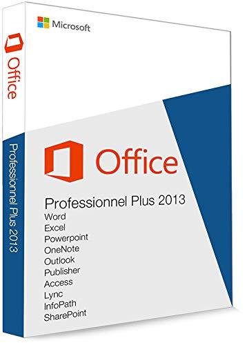 Microsoft office professionnel 2013 plus version complète / 1 pc / 1 clé / livré par e-mail