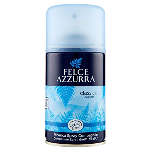 Felce Azzurra - Aria di Casa Profumatore Automatico d'Ambiente Classico, Puro Benessere - 250 ml