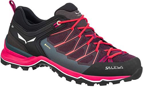 Salewa W Mountain Trainer Lite GTX Lila, Damen Gore-Tex Hiking- und Approach-Schuh, Größe EU 40.5 - Farbe Virtual Pink