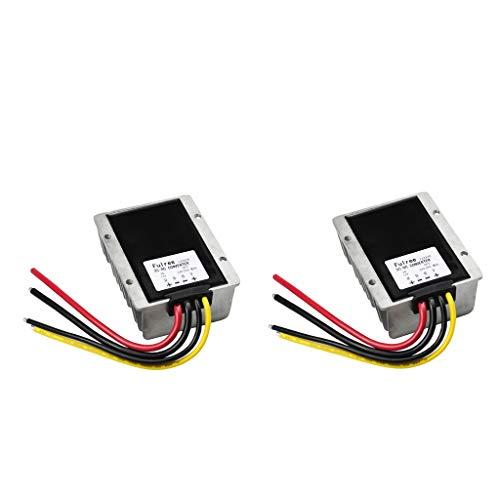 Shiwaki 2tlg 12V bis 24V DC Booster DC Spannungswandler-Adapter-Controller Spannungsversorgungs-Wandler-Regler-Modul