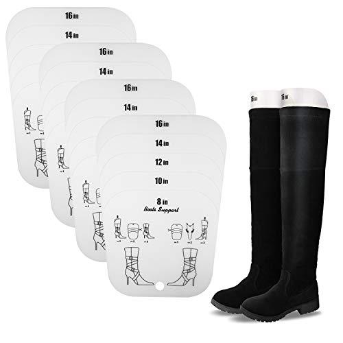JJDPARTS Stiefelform-Einsätze für Damen und Herren, zuschneidbar, 5 Größen auf 1 Blatt (2 Paar)
