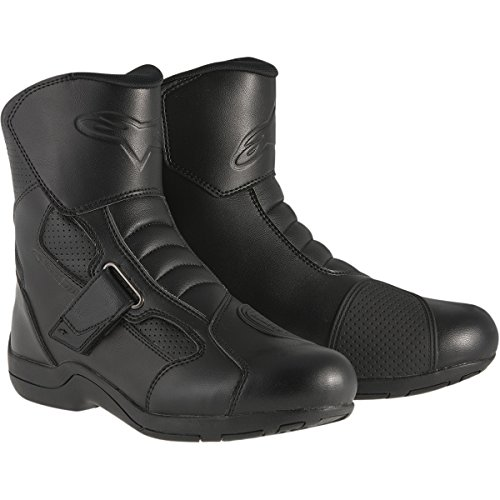 Alpinestars Ridge Waterproof Men's Street Motorcycle Boots (Black, EU Size 42)