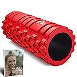 ffexs foam roller - rullo in schiuma massaggiatore eccellente per l'auto massaggio