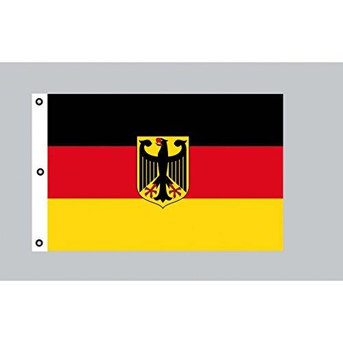 Everflag Riesen-Flagge: Deutschland mit Adler 150cm x 250cm