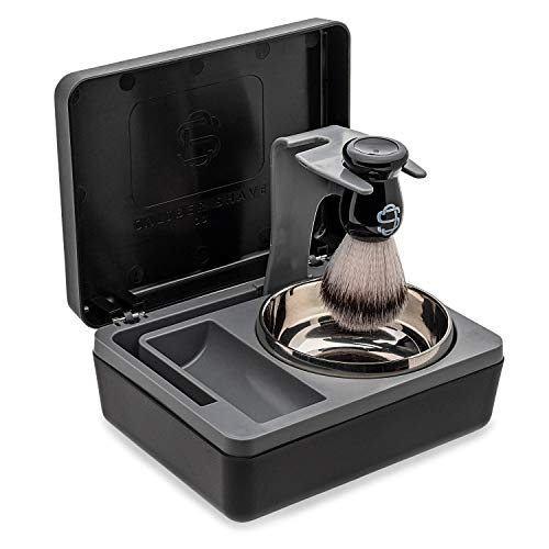 Caliber Shave Co. Travel Wet Shaving Kit | Includes Durable...