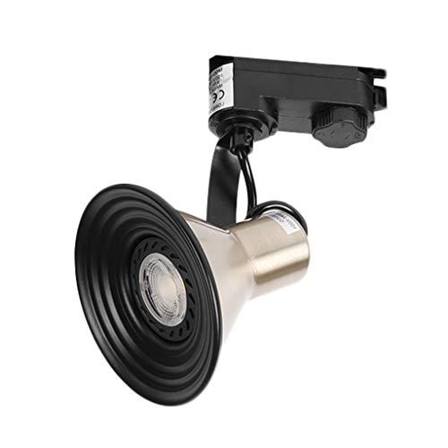 Spot De Plafond LED, Créatif Décoration bar projecteur Éclairage Sur Rail Mur De Fond Éclairage Sur Rail Chambre Lustre