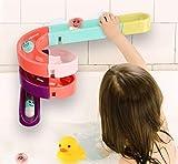 MCalle Kugelbahn für Badewanne Kleinkinder Kinder Wasserspiel Badespaß 24teilig