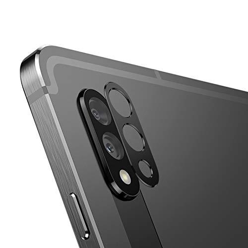 NOKOER Kamera Linse Schutz für Samsung Galaxy Tab S7 Plus, [2 Pack] Kamera Schutzring, Hochwertiges Metallmaterial [Anti-Kratzen] 360 Grad Schutz Kamera Linse - Schwarz