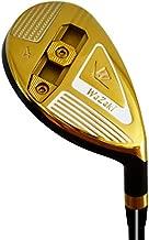 Japan Wazaki WL-III Mx Steel Adjustable Hybrid Iron Single Mens Golf Club with Headcover,20 Degree Loft,Regular Flex,65g Graphite Shaft,No 4,Right Handed