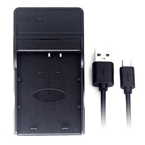 LP-E10 USB Cargador para Canon EOS 1100D, EOS 1200D, EOS Kiss X50, EOS Rebel T3 batería de la cámara