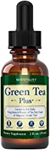 Green Tea Plus – Concentrated Green Tea Extract Supplement. Healthy Metabolism Boost and Natural Energy from Green Tea. Decaffeinated. Immune System Support. Powerful Antioxidants 2oz (30 Servings)