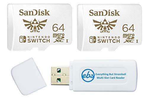 memorias micro sd para nintendo switch fabricante SanDisk