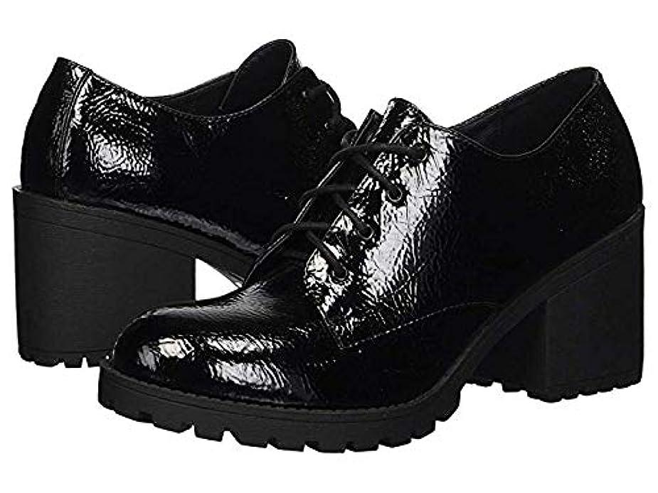 大学火山学シェルレディースレースアップ?オックスフォード?靴 Lisette Black US 6.5 (23.5cm) B - Medium [並行輸入品]