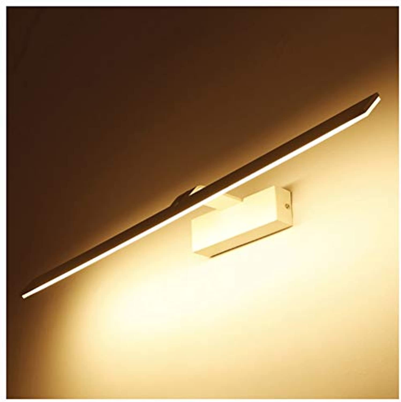 YliJkeT Nordic Spiegel Scheinwerfer, Bad Spiegel Scheinwerfer LED Wasserdichte Spiegel Scheinwerfer Einfache Spiegel Kabinett Badezimmerspiegel Licht (Farbe   Wei, gre   41cm)