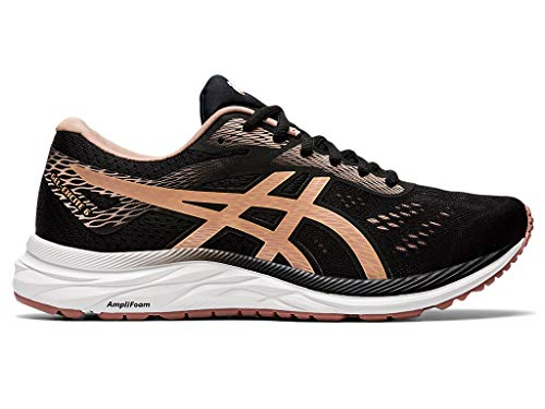 ASICS Women's Gel-Excite 6 Running Shoes, 11M, Performance Black/Dusty Steppe