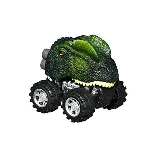 Forma De La Cabeza Del Dinosaurio Tire Coche De Vuelta Vehículos De Dinosaurios De Juguete Realista Dilophosaurus Dino Figuras Coche Ideal Juguete De Regalo