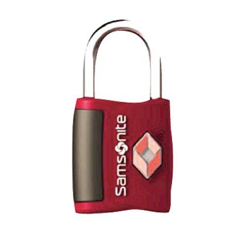 Samsonite Luggage 2 Pack Travel Sentry Key Lock, Red Pepper, One Size