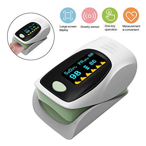 Pulsioximetro de dedo profesional,Anself Oximeter Finger Clip Pulse...