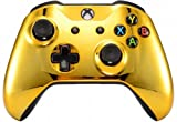 UN-Modded Custom Controller Compatible with Xbox One S/X. (3.5 mm Jack) (Gold)