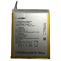 新品AlcatelノートパソコンバッテリーAlcatel tab pixe 3 TLp028BD TLP028BC交換用のバッテリー 電池互換2820mAh/10.44Wh 3.7V