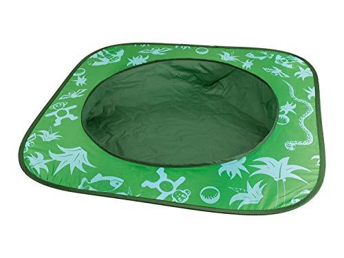 Playtive Sand-Planschbecken für den Sandkasten und Strand mit Tragetasche Grün