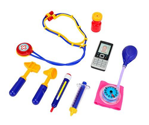 Simba Toys 105540698 - Cas de Docteur avec le téléphone portable