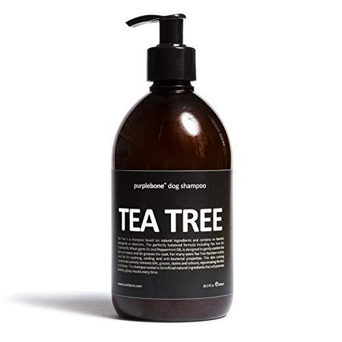 Purplebone Shampoo per cani albero di tè alla menta