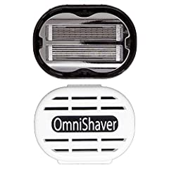 ☑️ REDUCE YOUR SHAVE TIME BY 75%: Having your head fully trimmed normally requires a lot of time. But, with Omnishaver's bald head shaver, you can make your shaving experience less time consuming. Pre-shave lotion with Premium razor features Bi-Direc...