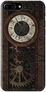 R3221 Steampunk Clock Gears Case Cover For iPhone 7 Plus