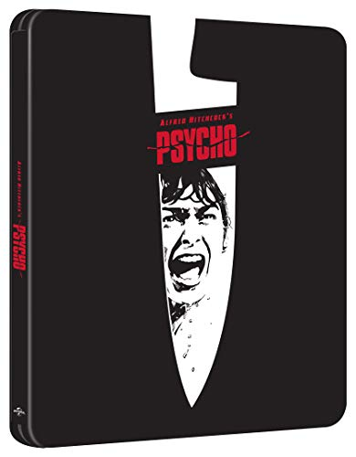 Psycho 60th Anniversary Edition (Limited 4K UHD Steelbook) [Blu-ray] [2020] [Region Free]