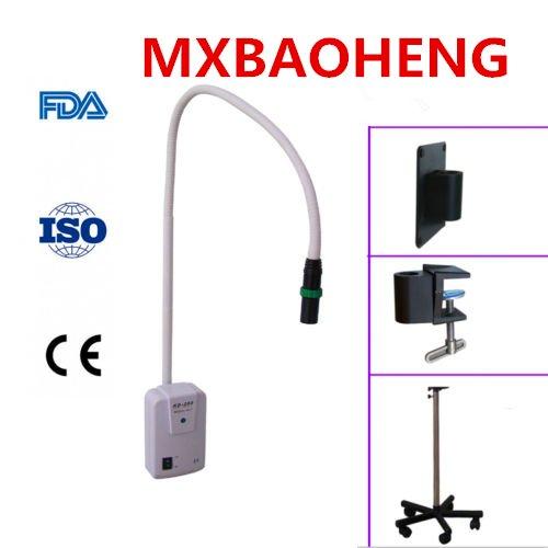 Lámpara de examen quirúrgico LED de 3 W KD-202B-1 con clip tipo soporte (con clip de pared)