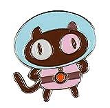 Goellnerd Cookie Catstronaut Enamel Pin