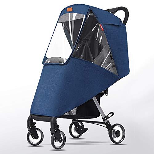 Universal Regenschutz für Kinderwagen - Kinderwagen Windschutz für Regen und Wind, wasserdicht und winddicht EVA Windschutz für Baby Pet Kinderwagen