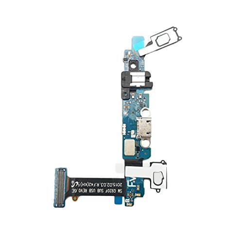 Smartex Dock Connector Ladebuchse kompatibel mit Samsung Galaxy S6 (G9200 G920F) - Ladeport Lade Buchse