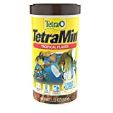Tetra TetraMin Tropical Flakes 3.53 Ounces, Nutritionally Balanced Fish Food, Model Number: 16204