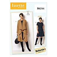 Butterick Patterns B6244B50 Misses/Women's Coat and Dress, B5 (8-10-12-14-16) by BUTTERICK PATTERNS